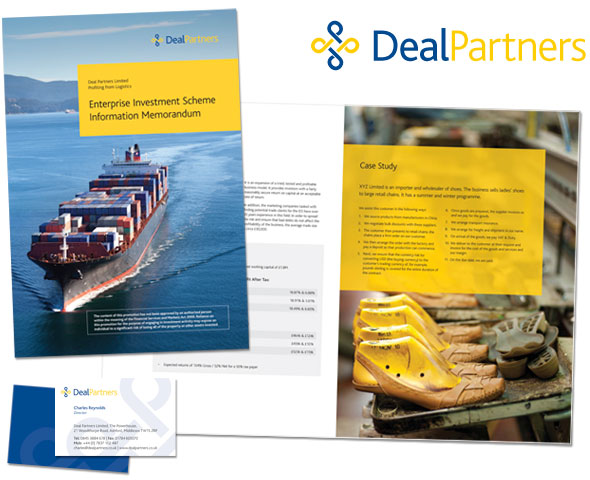 Brochure design for a local and international logistics company.