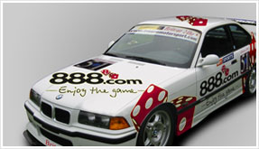 Vehicle Livery and flyer design  for a motorsport track day company